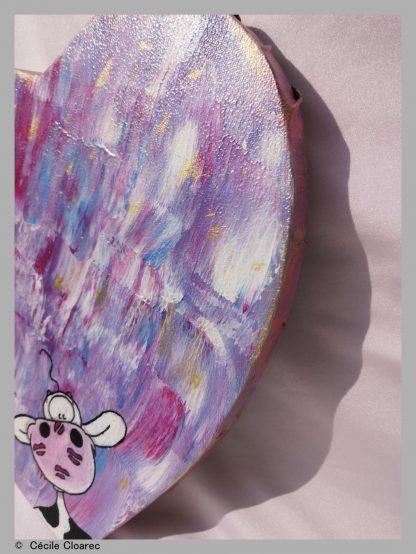 1018 Vachette Rosette - Cécile Cloarec chez jOse'tte et Peinture