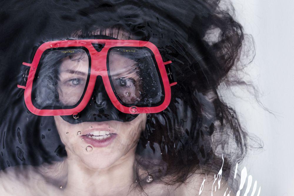 Masque pour la porte-ouverte de l'été de Cécile Cloarec
